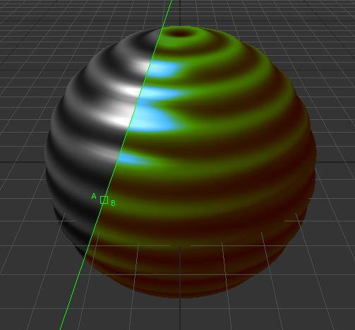 31D applied using Luminance.